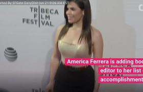 America Ferrera To Edit Anthology Of Stories About Cultures