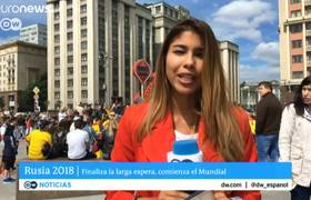 VIDEO - World Cup reporter groped and kissed on air