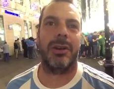 Argentinos en Rusia sufren derrota contra Croacia