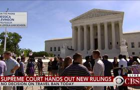 Supreme Court rules on florist case, gerrymandering