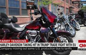 Harley-Davidson moving jobs out of US over Trump's tariffs