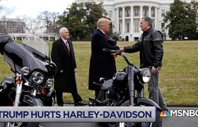 Harley-Davidson Is Losing Jobs In President Donald Trump's Trade War