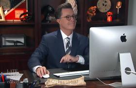 'Lowlife' Colbert Video Chats With 'Lost Soul' Fallon & Conan O'Brien