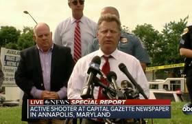 Shooting in Maryland newspaper leaves 5 dead