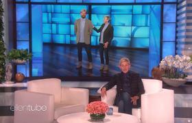 Ellen's Body Double Tricked Kevin Hart