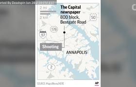 Gunman Attacks Newsroom In Maryland