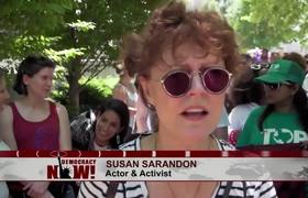 Susan Sarandon & Linda Sarsour Speak Out as 630 Women Arrested Protesting U.S. Immigration Policy