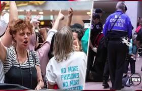 Susan Sarandon Arrested For Sick Crime Against Trump