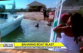 American tourist killed in Bahamas boat explosion