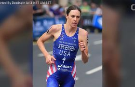 Triathlete Gwen Jorgensen Looks To Win Gold In Olympic Marathon