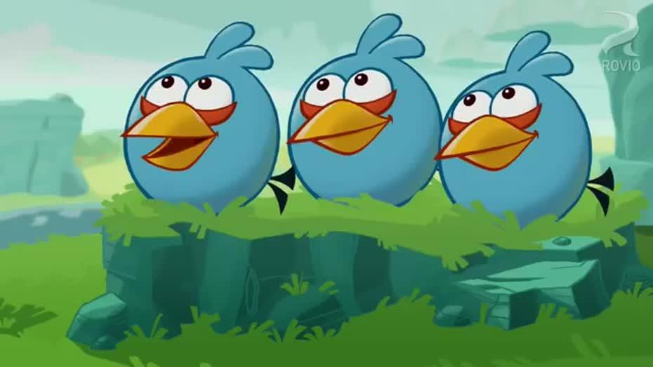 Angry Birds Toons True Blue
