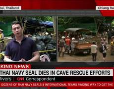 Former Thai navy SEAL diver dies in Thai cave