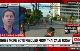 Eight boys rescued from Thai cave