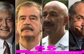 Para ex presidentes, sólo pensión del ISSSTE y de adultos mayores: #AMLO