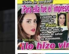 Zague manda mensaje a la revista que destruyó su matrimonio