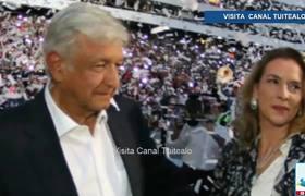 AMLO - Beatriz no será primera dama ni presidenta del DIF