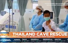 Thai Cave Rescue: Football team and their coach to be released from hospital
