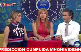 Prediccion Cumplida Mhonividente SISMO en MEXICO
