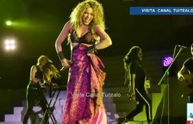 Shakira inaugurates the Central American and Caribbean Games in Barranquilla