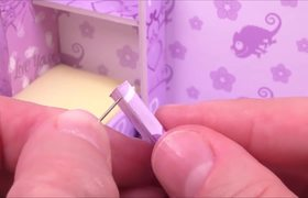 #DIY Miniature Dollhouse Room ~ Rapunzel Room Decor