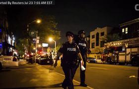 Gunman In Toronto Kills 2, Injures 12