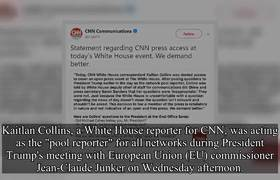 White House Bans CNN Reporter For Asking Donald Trump Questions