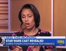 Star Wars cast to include a posthumous performance by Carrie Fisher