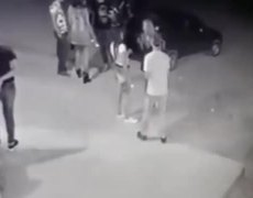 #CCTV: gangster executes birthday girl outside club
