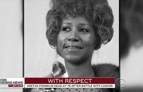 Fans pay tribute to Aretha Franklin