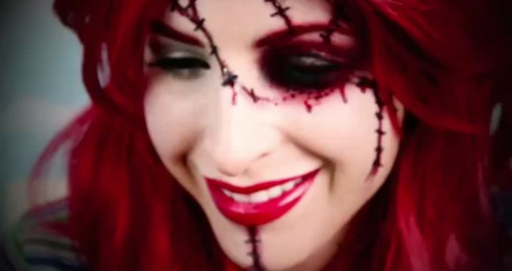 Videos De Maquillaje De Halloween.Sexy Muneca Chucky Maquillaje Para Halloween