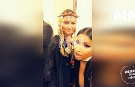 Madonna Kisses Nicki Minaj In The Mouth Causing Her To Scream In Disbelief