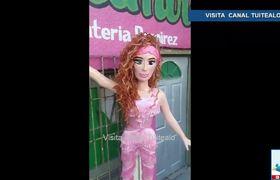 Crean piñata de Thalía en apoyo tras criticas a su #ChonaChallege Video #ThalíaChallenge