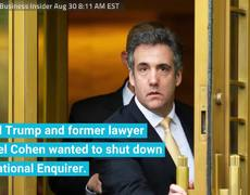 Trump And Michael Cohen Devised A Plan To Buy Dirt On Trump From The National Enquirer