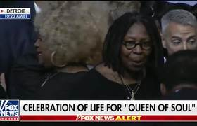 Aretha Franklin's funeral filled with famous faces