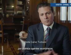 Sexenio del empleo dice Peña Nieto por 6to Informe de Gobierno