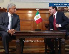 Relación con Peña Nieto es muy buena dice Andrés Manuel López Obrador