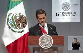 Peña Nieto agradece a su familia