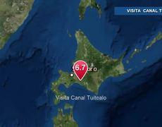 Sismo de magnitud 6.7 grados sacude Japón
