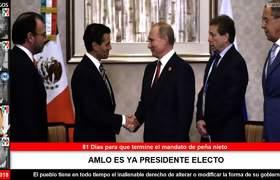 López Obrador invita a Putin a su toma de posesión