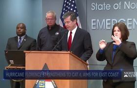 States Of Emergency Declared Ahead Of Hurricane Florence