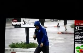 #VIRAL: Weather Channel Hurricane Florence Report