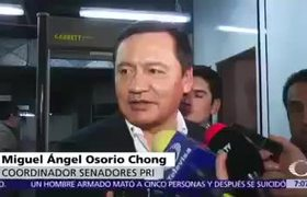 Osorio Chong dice que se está llegando al exceso en la austeridad en el #Senado