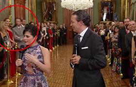 Esposo de Chantal Andere se Pone Celoso en Palacio Nacional