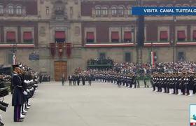 Peña Nieto da inicio al Desfile Militar del 16 de Septiembre