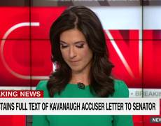 Listen to letter from Kavanaugh's accuser