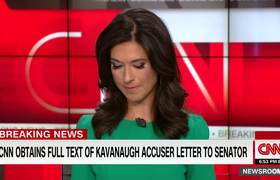 Listen to letter from Kavanaugh's accuser