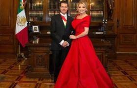 Precio del vestido rojo que Angélica Rivera que tenia en el grito de independencia?