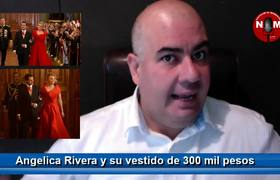 Angelica Rivera y su vestido de 300 mil pesos