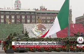 Enrique Peña Nieto encabezó su último Desfile Militar