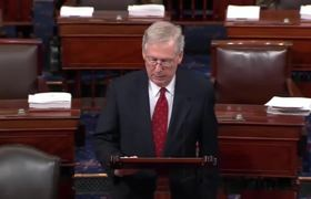 Mitch McConnell Rips Feinstein & Senate Democrats For 11th Hour Allegation Against Kavanaugh 9/17/18